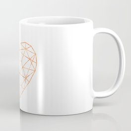 COPPER HEART (WHITE) Coffee Mug