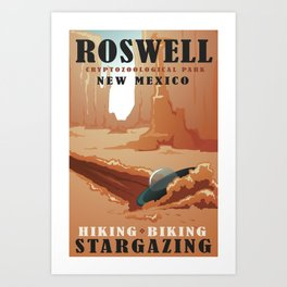 CPS Roswell, NM Art Print