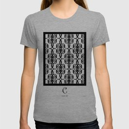 LETTERNS - C - Curlz MT T-shirt