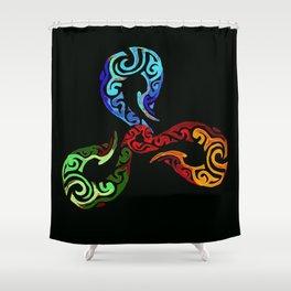 Triskelion Shower Curtain