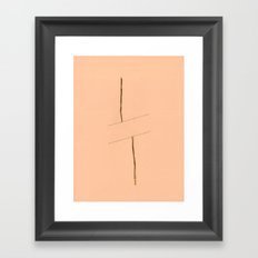 Linear Nature 2 Framed Art Print