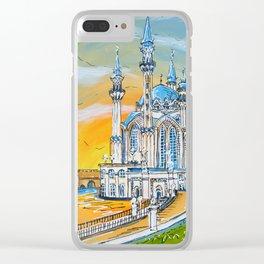 Kul Sharif Mosque Clear iPhone Case