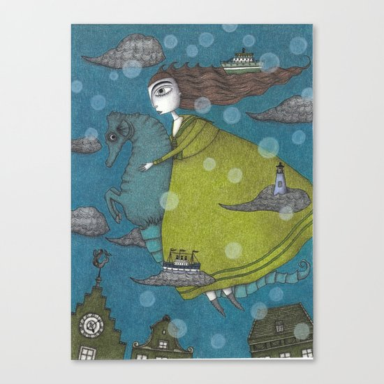 The Sea Voyage Canvas Print