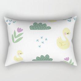 Little ducks Rectangular Pillow