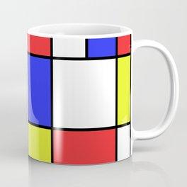 Mondrian #23 Coffee Mug