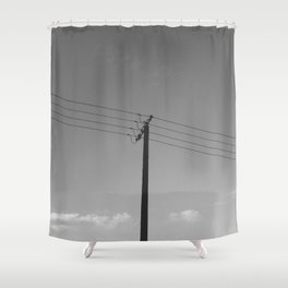One for four Shower Curtain