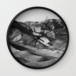Mountains of the Judean Desert 4 Wall Clock