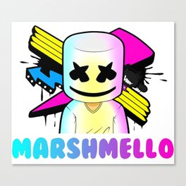 Marshmello Canvas Print