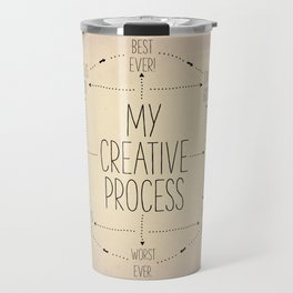 My Creative Process Travel Mug