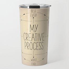 My Creative Process Travel Mug