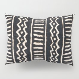 African Vintage Mali Mud Cloth Print Pillow Sham