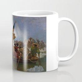 Washington Crossing the Delaware Painting Coffee Mug