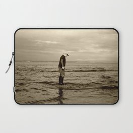 A Boy and The Sea Laptop Sleeve