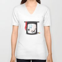 holiday V-neck T-shirts featuring Holiday by Matisse Lin