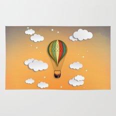 Balloon Aeronautics Dawn Rug