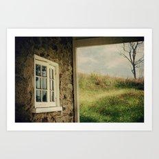 A Meadow View Art Print