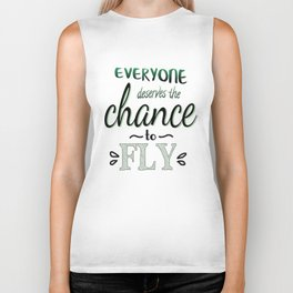 Everyone Deserves The Chance To Fly | Defying Gravity Biker Tank