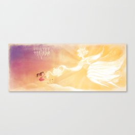 """Teatime with The Sun // Illustration from """"Once Upon A Cloud"""" Canvas Print"""