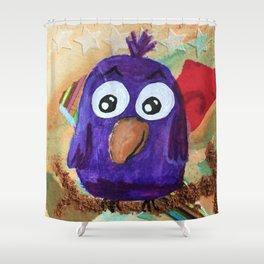 Waltz - Quirky Bird Series Shower Curtain