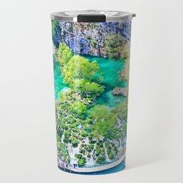 Waterfall Oasis Travel Mug