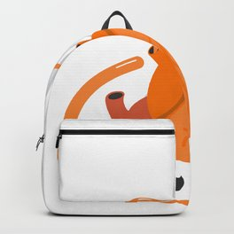 heart eye Backpack
