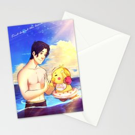 Markiplier and Chica - Family Moments Stationery Cards