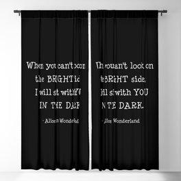 Alice in Wonderland Blackout Curtain