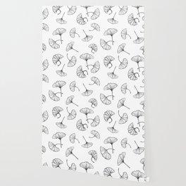 Ginkgo leaves pattern Wallpaper