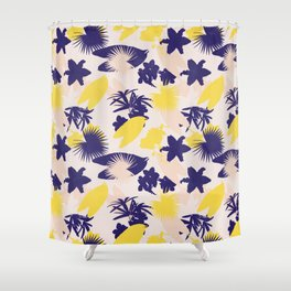 tropical love Shower Curtain