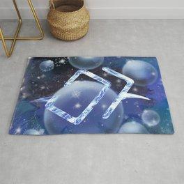 Astrologian Galaxy Rug