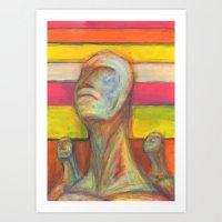 The Ego #2 Art Print