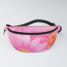 Bunch of pink daisy flowers - a fresh summer feel in pink color Fanny Pack