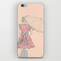 eugenia loli iPhone & iPod Skins featuring Loli shadowcast by Nicole Dobbins