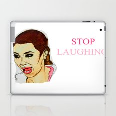 Kim ugly crying Laptop & iPad Skin