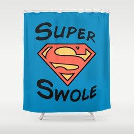 Super! Shower Curtain