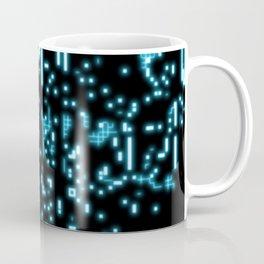 Neon circuits Coffee Mug