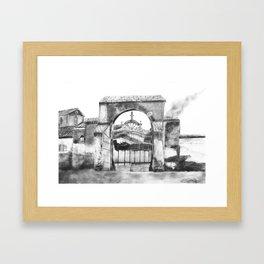 Portillo de Fuencarral Framed Art Print