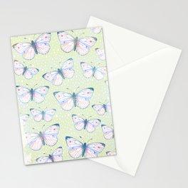 vintage butterfly pattern Stationery Cards