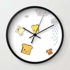 Flying Toast Wall Clock