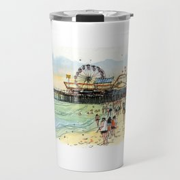 Santa Monica Seaside Travel Mug