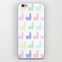 alpaca iPhone & iPod Skins featuring alpaca by Chocolate Amargo