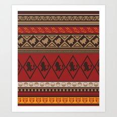 Poke Tribe (Southwest)  Art Print