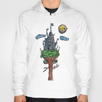 castle in the sky Hoodies featuring Castle in the Sky by Sarah Maurer