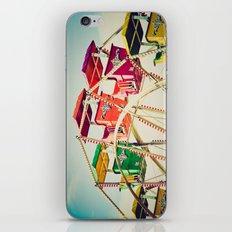 Colorful Ferris Wheel Cars iPhone & iPod Skin