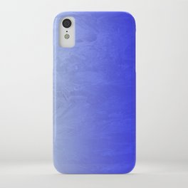 Blue Ice Glow iPhone Case