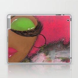 Pink and Green Sassy Girl Laptop & iPad Skin