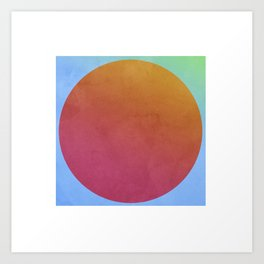 Orange Wannabe Art Print