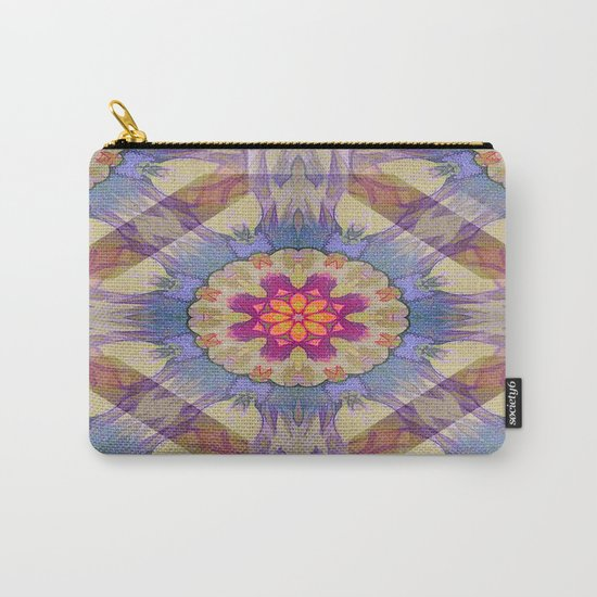 Sunset Kaleidoscope Carry-All Pouch