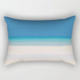 Dreamt Tropical Beach Design Rectangular Pillow