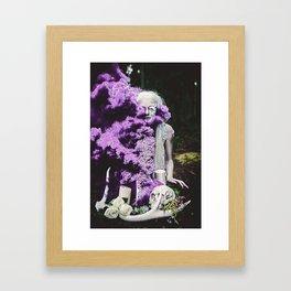 Vampire Flower (Edit 3) Framed Art Print